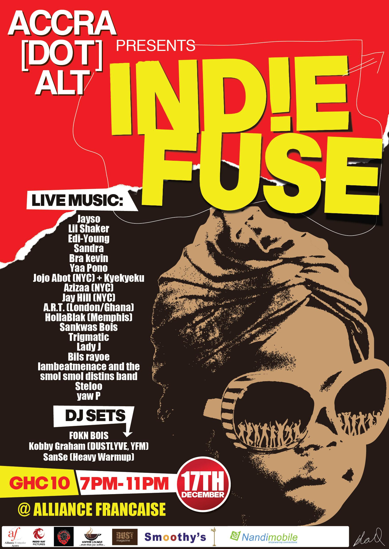 ACCRA [dot] ALT Presents IND!E FUSE