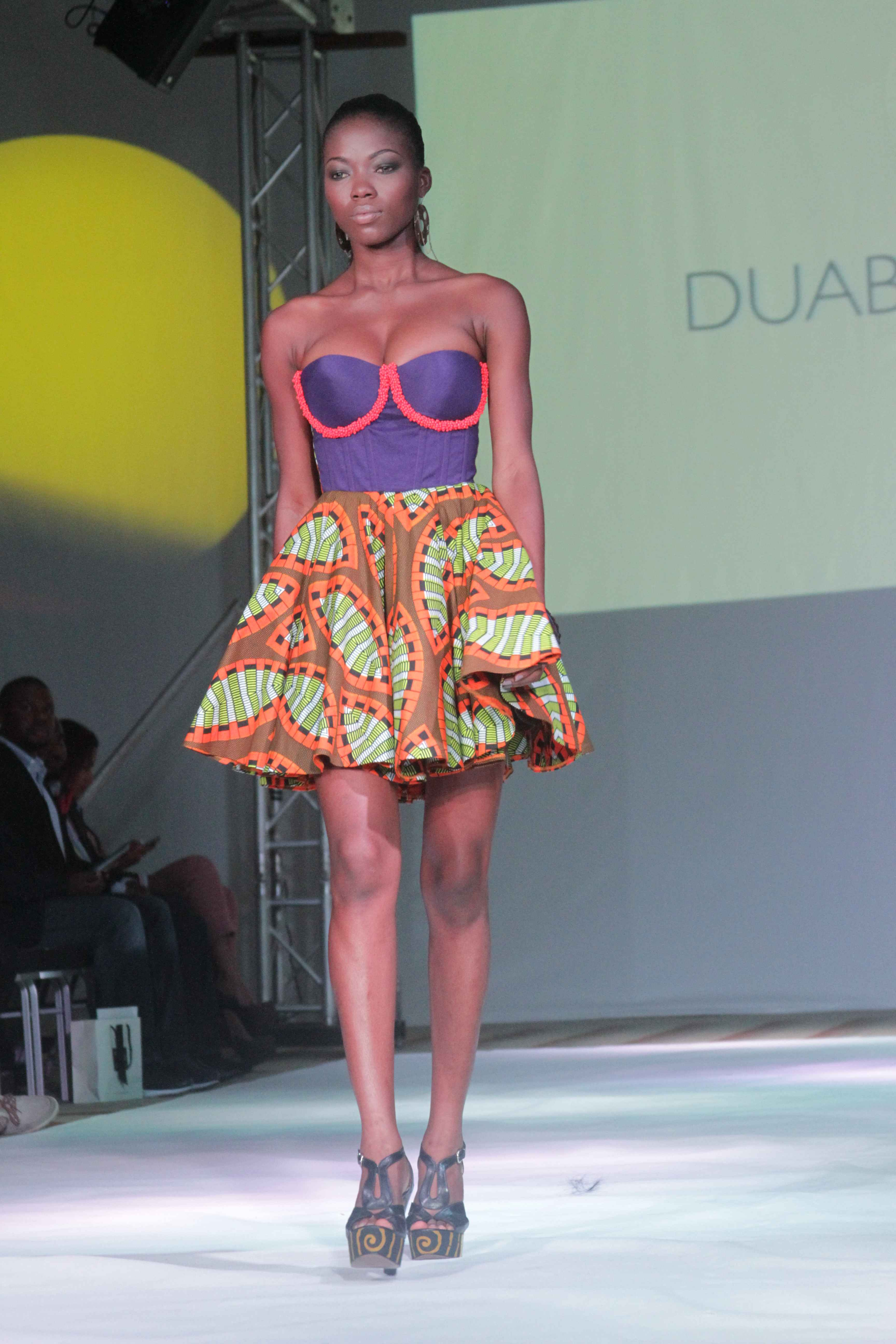 Ghana Fashion Design Week 2012 Duaba Serwa Accra Dot