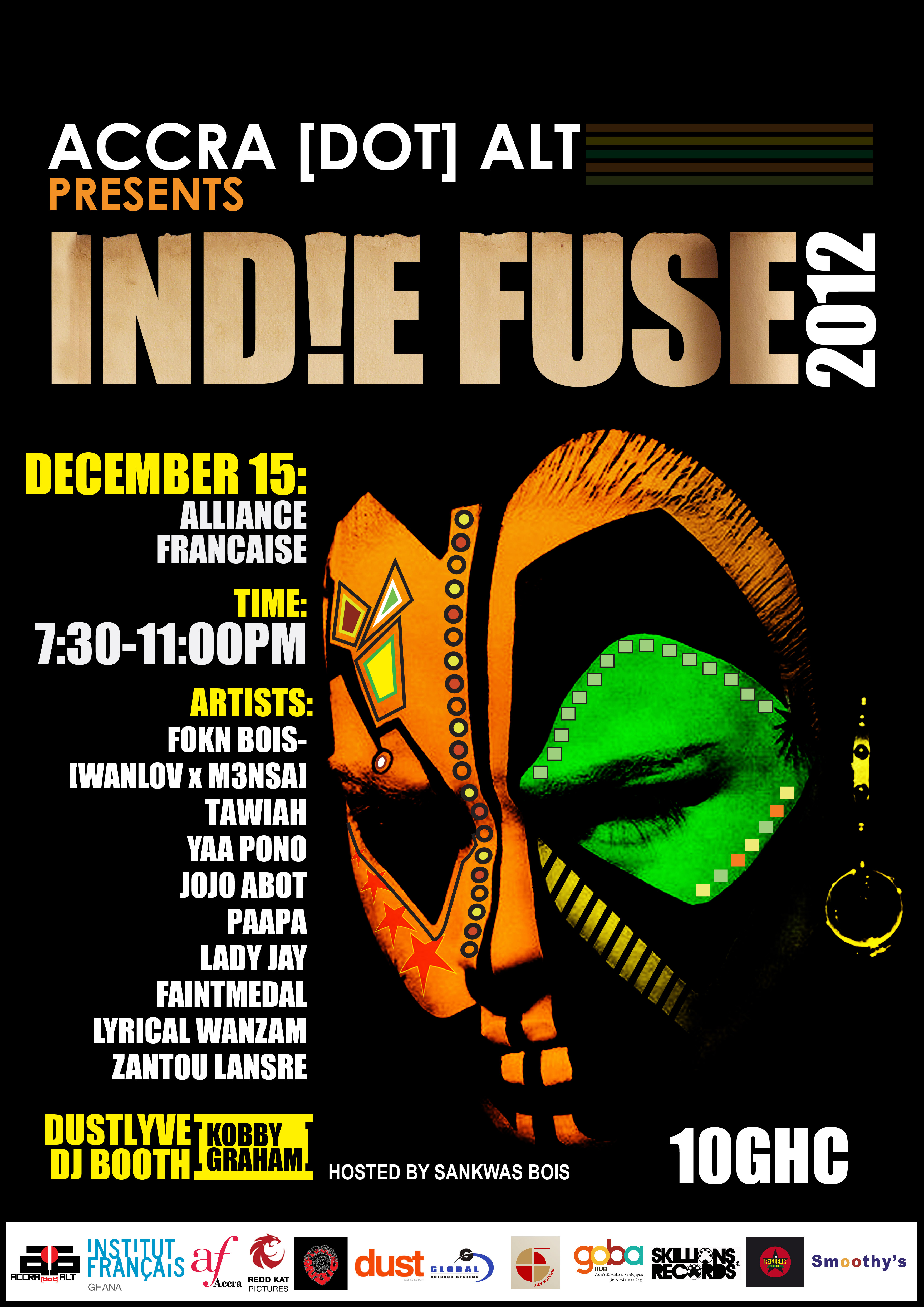 IND!E FUSE 2012: Live Electro Accra [DEC. 14th x 15th]