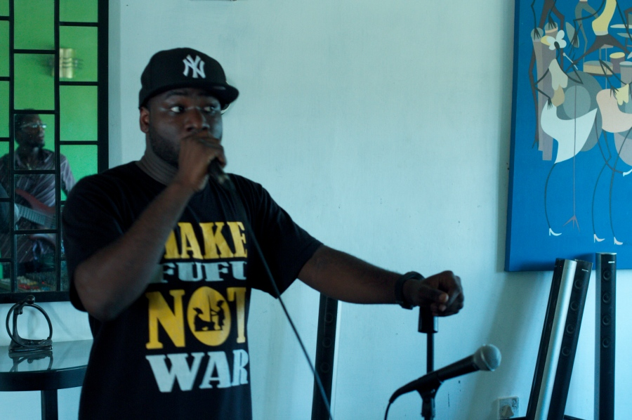 BLITZ THE AMBASSADOR   ACCRA, OCT. 2011