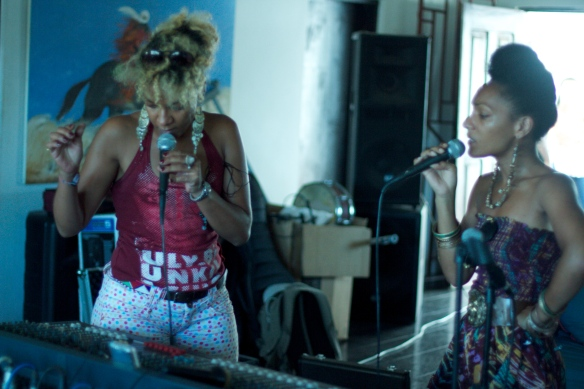 Hélène and Célia Faussart are Les Nubians