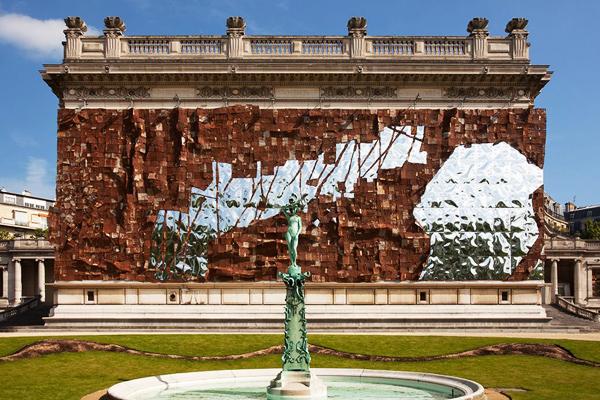 Broken Bridge at the Musée de la Mode de la Ville de Paris via Art Info