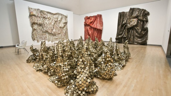 Anatsui's Africa via Time Out