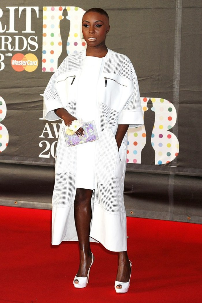 MVULA at the BRIT AWARDS 2013 via Glamour Magazine