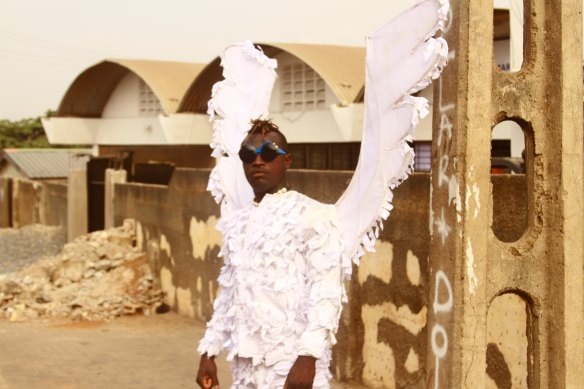 ABROKWAH'S ANGEL - photo by ACCRA [dot] ALT