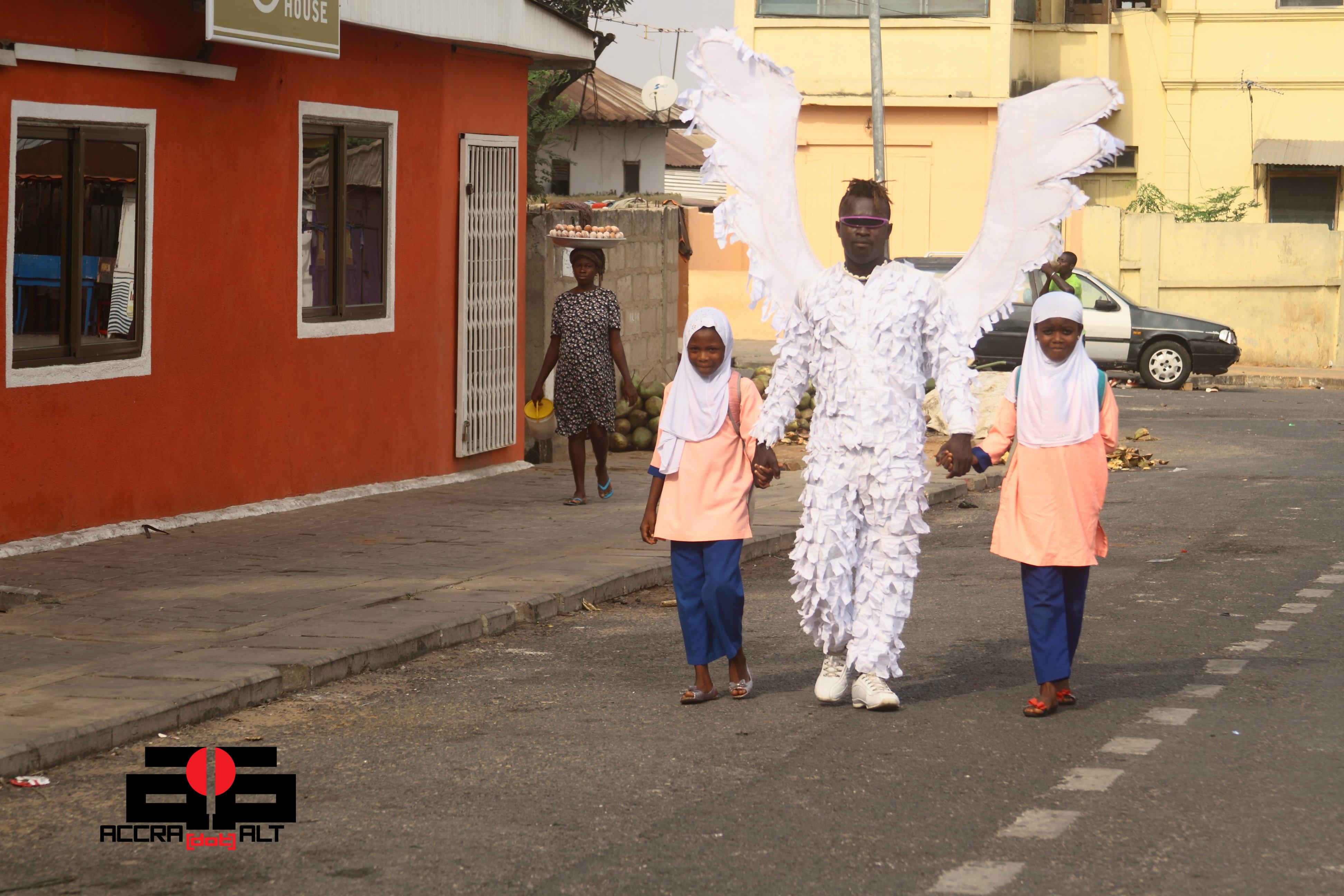 Abrokwah's Angel 9a - photo by ACCRA [dot] ALT