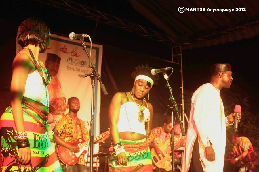 Gyedu Blay Ambolley AFAccra Show 1 - photo by Mantse Aryeequaye