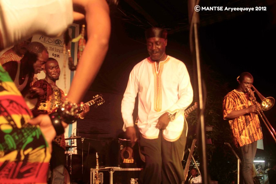 Gyedu Blay Ambolley AFAccra Show 18 - photo by Mantse Aryeequaye