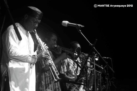 Gyedu Blay Ambolley AFAccra Show 6 - photo by Mantse Aryeequaye