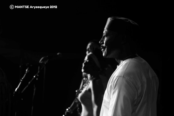 Gyedu Blay Ambolley AFAccra Show 8 - photo by Mantse Aryeequaye