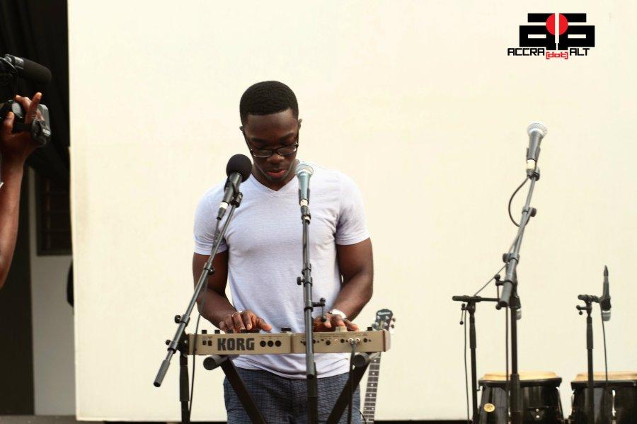 Paapa @ IND!E FUSE 2012 Soundcheck | photo by Mantse Aryeequaye
