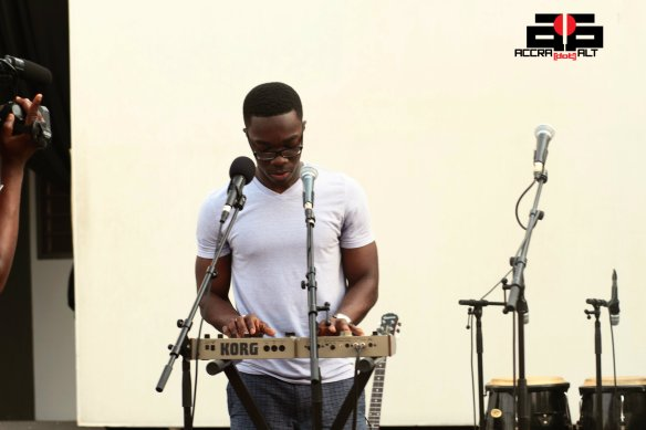 Paapa @ IND!E FUSE 2012 Soundcheck | photo by Mantse Aryeequaye