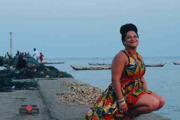 SENA on the James Town Pier, Accra [Jan. 2013]