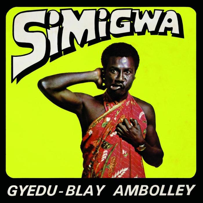 AMBOLLEY's Legendary Simigwa [1975] album via grooveattackrs