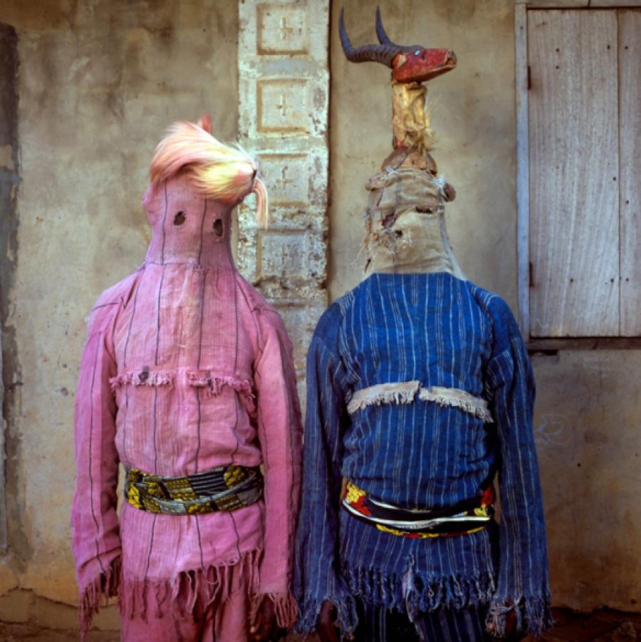 Akata Dance Masquerades, Ogoja, Nigeria, 2004 via The Third Eye | photo by Phyllis Galembo