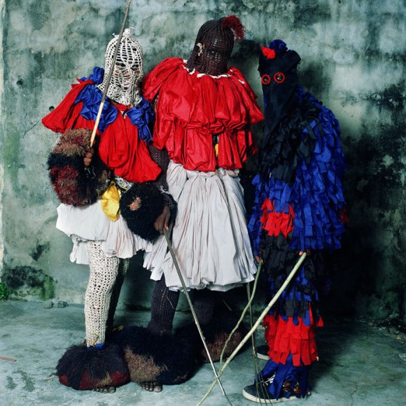 Ekpeyong Edet Dance Group, Calabar, Nigeria 2005 via Traces of Creation | photo by Phyllis Galembo
