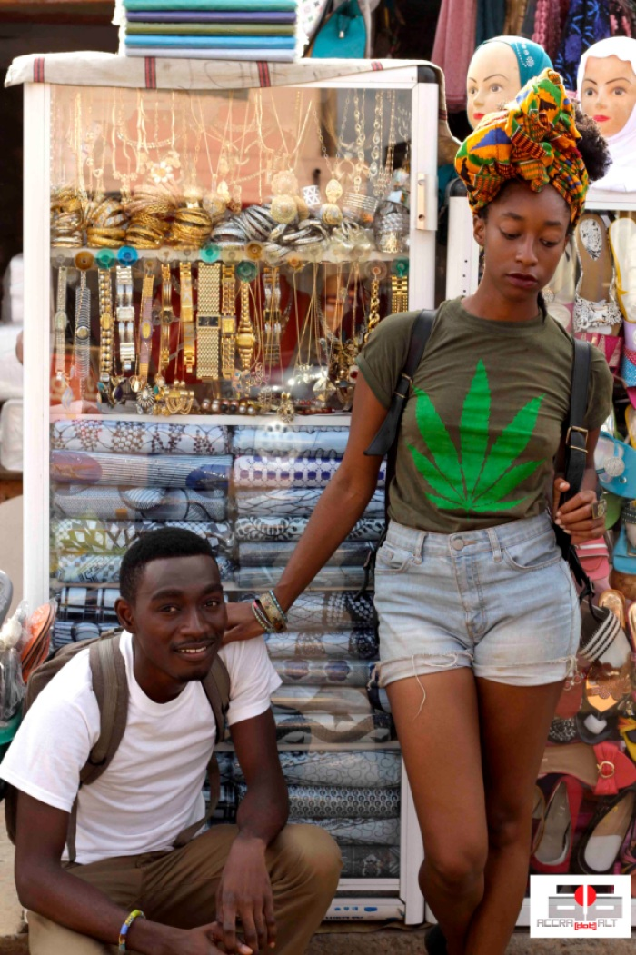 JASE TAY x AFUA ASONA in Street Bling