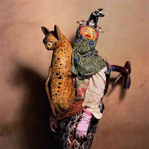 Gelede Masquerade, Agonli-Houegbo Village, Benin 2006 via Blue Sky Gallery | photo by Phyllis Galembo