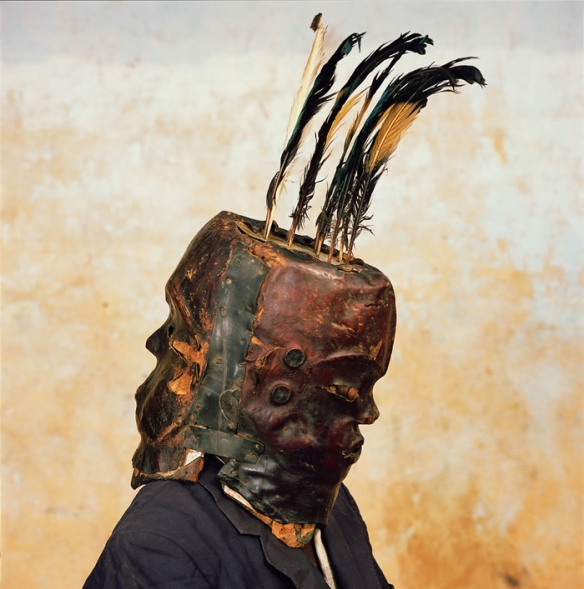 Janus Mask, Nkim Village, Nigeria, 2005 via The Third Eye | photo by Phyllis Galembo