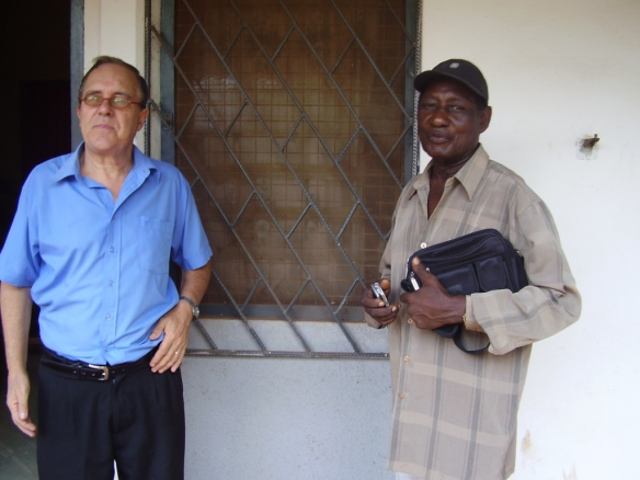 COLLINS with EBO TAYLOR at U-Legon, 2007 via BAPMAF
