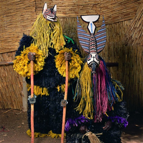 Masquerade from Gossina Village, Burkina Faso 2006 via Traces of Creation | photo by Phyllis Galembo