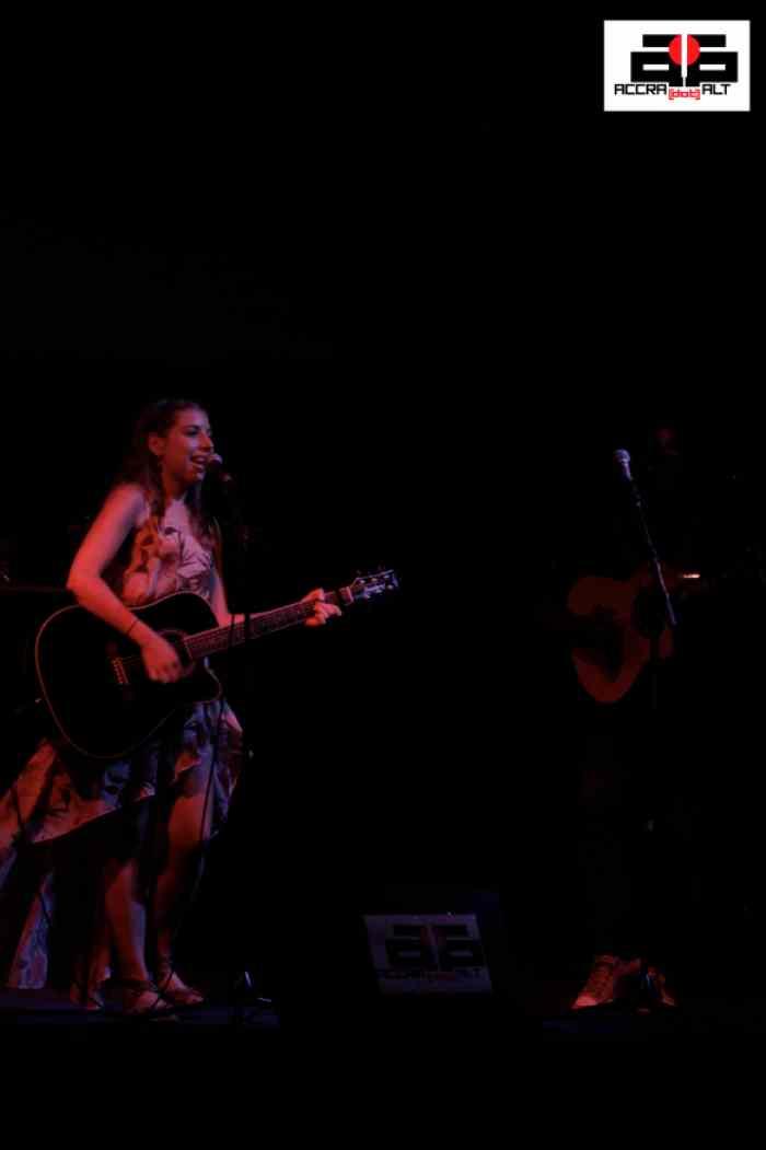 KATIE ORTIZ rocks the stage