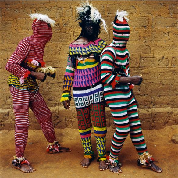 Ngar Ball Traditional Masquerade Dance, Cross River via The Third Eye | photo by Phyllis Galembo
