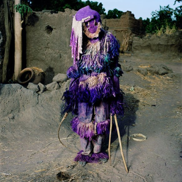 Panther Masquerade, Samaga Village, Burkina Faso 2006 via Traces of Creation | photo by Phyllis Galembo