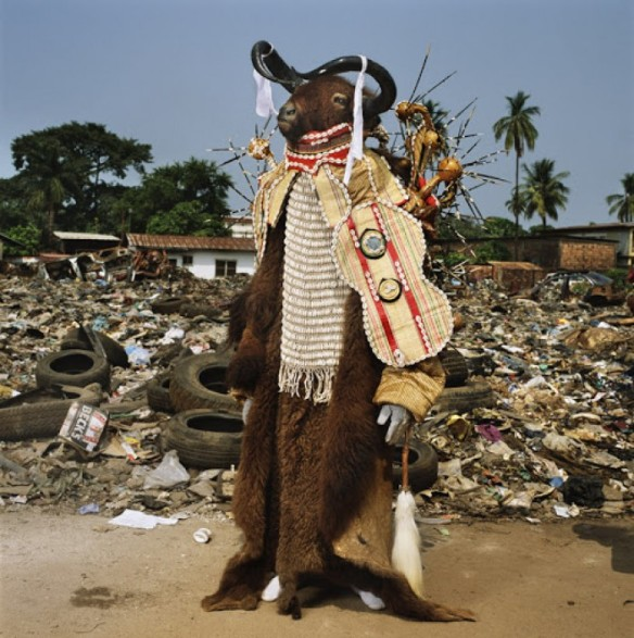 Water Buffalo Devil, Red Indians, Freetown, Sierra Leone, 2008 via The Third Eye | photo by Phyllis Galembo