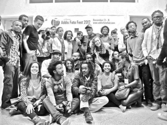 Some participating photographers | photo courtesy of Addis Foto Fest 2012
