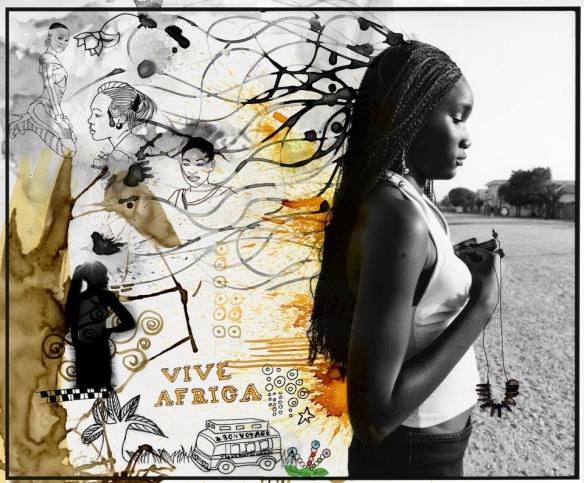 "DELPHINE Diaw DIALLO: ""Vive Africa"" | photo courtesy of Addis Foto Fest 2012"