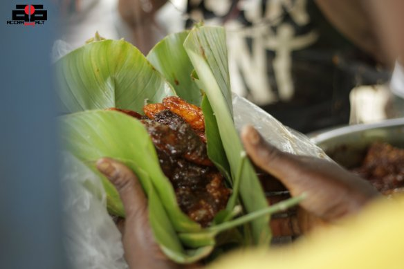 We want our Waakye wrapped