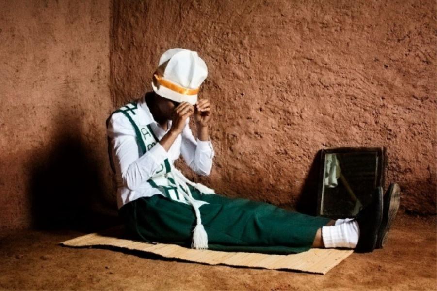 """SIMANGELE Kalisa: """"Clothed""""   photo courtesy of Addis Foto Fest 2012"""
