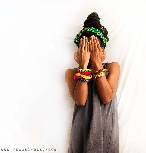 Yarn Bracelets 1