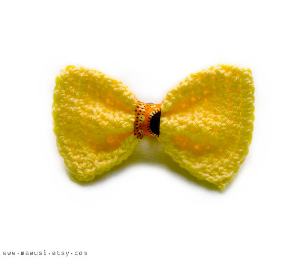 Yellow Bow 2