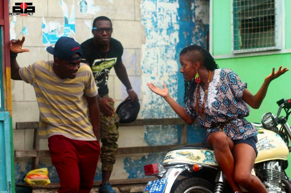 Street Debates with YAw P, Steloo and dancer Ama Eck
