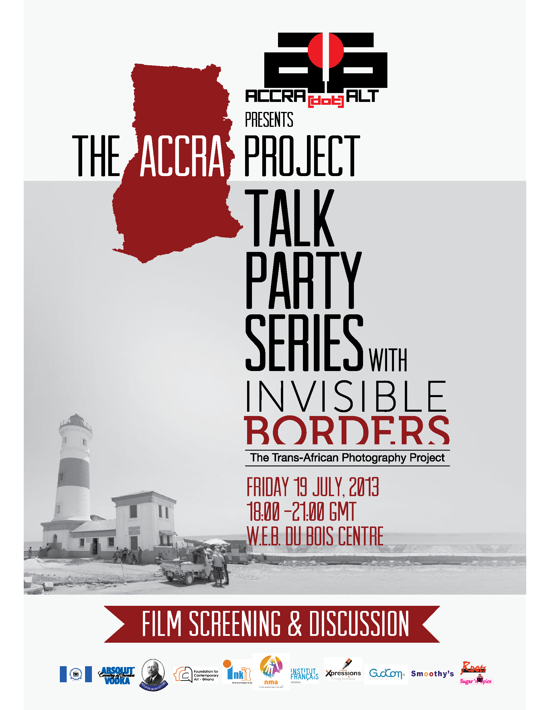 TALK PARTY SERIES Returns Tonight with INVISIBLE BORDERS