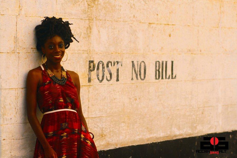 The director Akosua Adoma Owusu | photo by Mantse Aryeequaye
