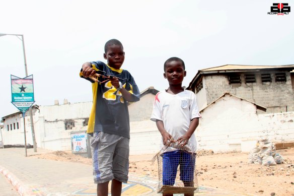 THE HUNTER KIDS - James Town | Accra