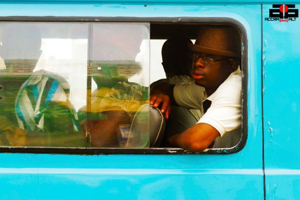 Nana Osei Kwadwo is with the CHALE WOTE production team