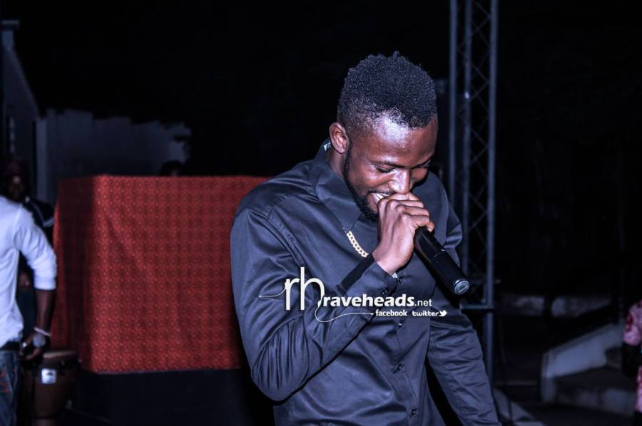 Yaa Pono about to let it  go.