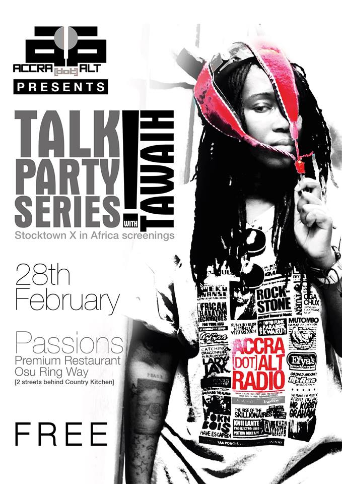2/28: TAWIAH x The Talk Party Series