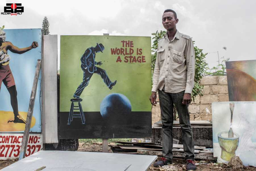 "Antwi Boasiako believes ""The World is a Stage"""