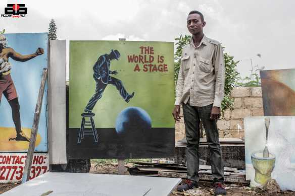 """Antwi Boasiako believes """"The World is a Stage"""""""