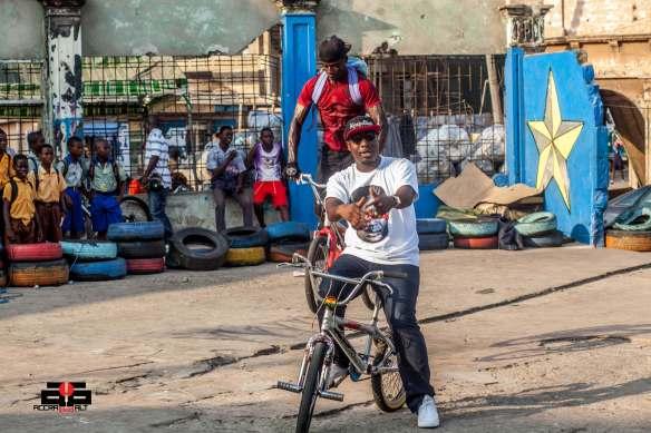 Blitz on some Bike Stunts