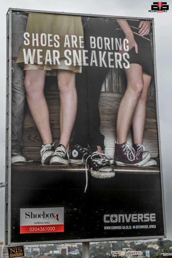 A Digital Billboard Ad. in Accra!