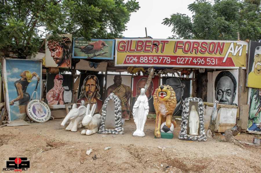 Gilbert Forson Art - Accra dot Alt 9
