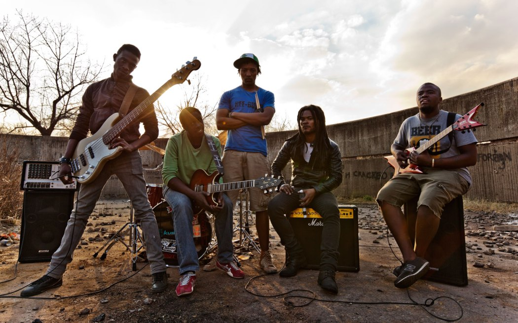 Reeburth, a heavy metal band from Soweto, South Africa.
