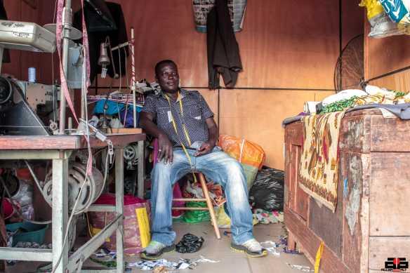 Francis Nartey is a popular street fashion designer in Osu-Accra