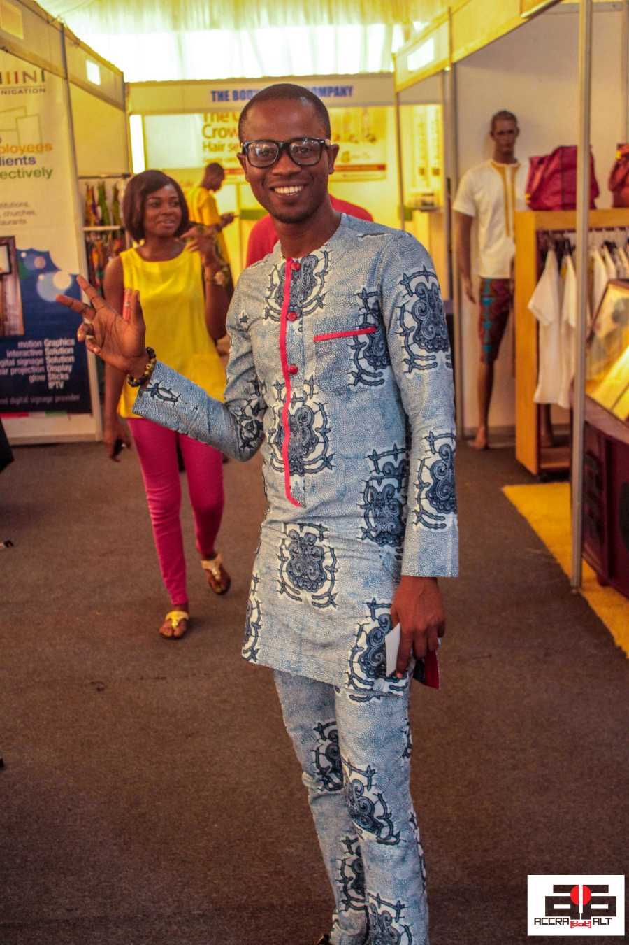 Customized outfits are big in Ghana.